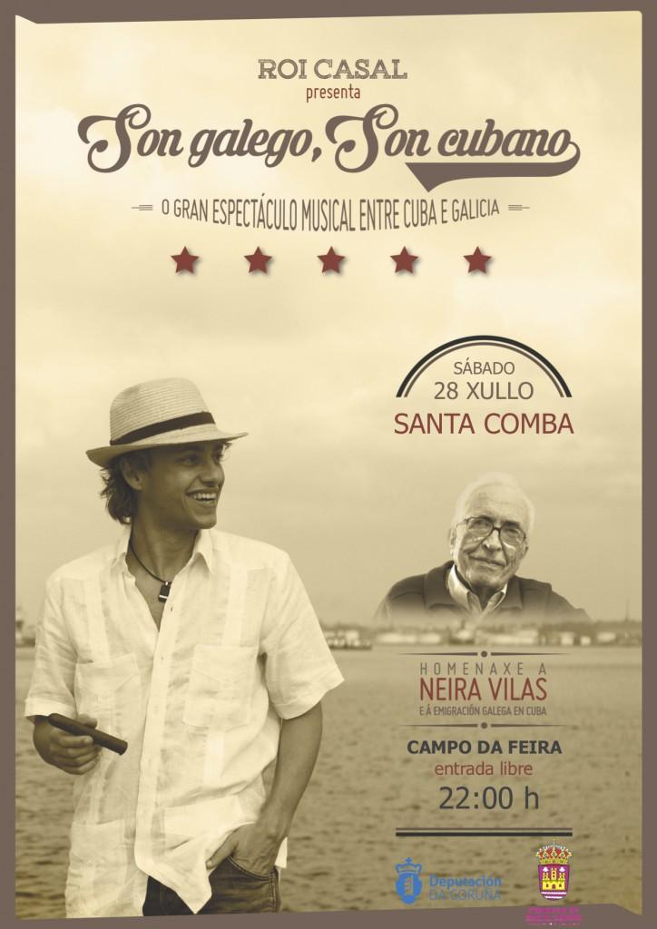 Cartel Santa Comba
